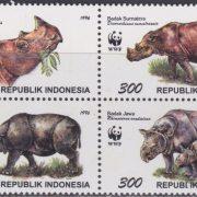 sumatraanse en javaanse neushoorn