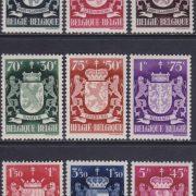 negen belgische provincies